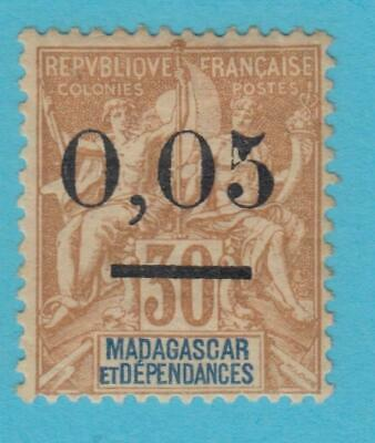 French Colonies Madagascar 59  Mint  Hinged  Og * No Faults Very Fine !