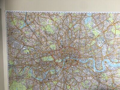 Knowledge Taxi Wall Map Super Scale