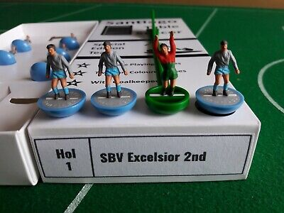 Subbuteo/Santiago. Santiago Type 2 Team. SBV Excelsior 2nd of Holland.