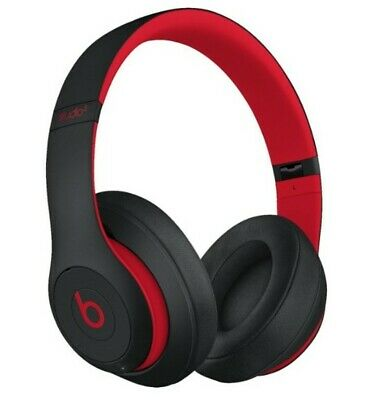 Beats by Dr. Dre Studio3 Headband Wireless Headphones - Defiant Black/Red