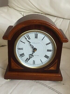 New Mantle Clock From London Clock Co., With Westminter Chime In Mahogany Wood