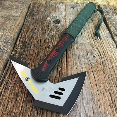 "16.5"" SURVIVAL TOMAHAWK THROWING AXE BATTLE Hatchet hunting knife tactical NEW"