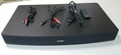 BOSE Solo 10 TV Sound System W/ Remote & Cables