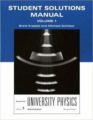 ESSENTIAL UNIVERSITY PHYSICS: Volume 1 by Richard Wolfson (Paperback
