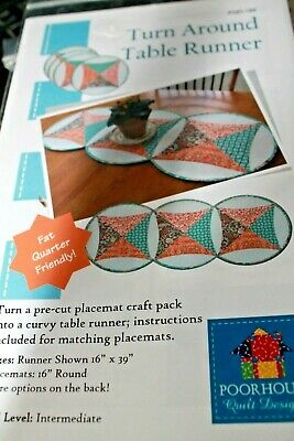 Pattern Turn Around Table Runner and Placemats Fat Quarter Friendly