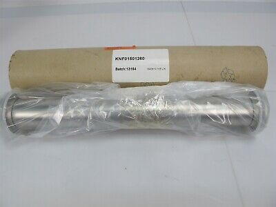 Agilent Varian KNF01501260 Straight Nipple NW40 12.60 in Vacuum Fitting