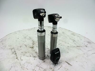 Welch Allyn Diagnostic Set with Opthalmoscope Head 11720, 2 Otoscope Heads 25020