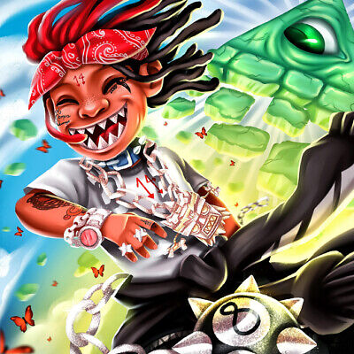 Trippie Redd A Love Letter To You 3 Music Album Print Poster Wall Decor