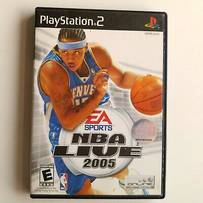 NBA Live 2005 (Sony PlayStation 2) (COMPLETE) GW