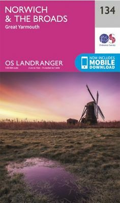 OS Landranger 134: Norwich & the Broads, Great Yarmouth