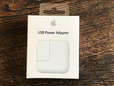 NEW OEM Genuine Original Apple USB Power 12W Adapter Wall Charger MD836LL/A