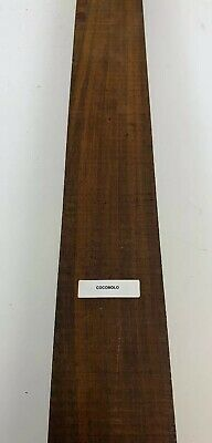 """1/2"""" x 3"""" x 24""""  Beautiful!  Cocobolo Thin Stock Lumber Boards Wood Crafts"""