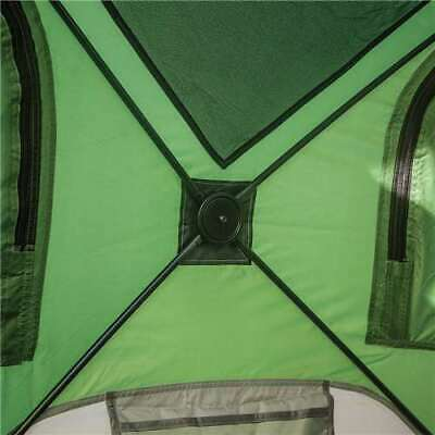 Gazelle Tents T4 Pop-Up Hub 4-Person Outdoor Camping Tent, Green (Used)