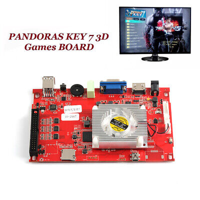 Pandoras Box 3D Arcade Treasure 2200 in 1 Game PCB Motherboard VGA HDMI Output