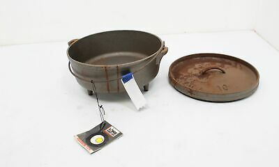 Lodge L10COD Cast Iron Camp Dutch Oven