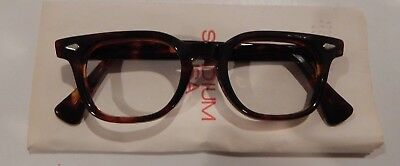 Vintage American Optical HYBRID Stadium Tortoise 44/20 Men's Eyeglass Frame 1001