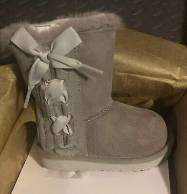 bc564dc5879 UGG PALA GREY Boot Kid's Girl's sizes 13-6 NEW!!! - $106.21 | PicClick