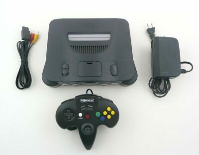 Original Nintendo 64 N64 System With Controller and All Hookups