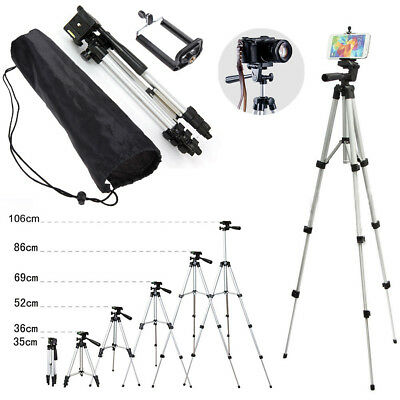 Retractable Universal Portable Stand For Camera Tripod  Phone Mount Holder+Bag