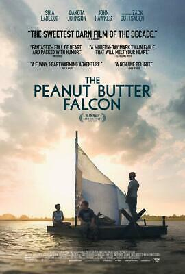 "THE PEANUT BUTTER FALCON - 13.5""x20"" Original Promo Movie Poster MINT 2019 Rare"