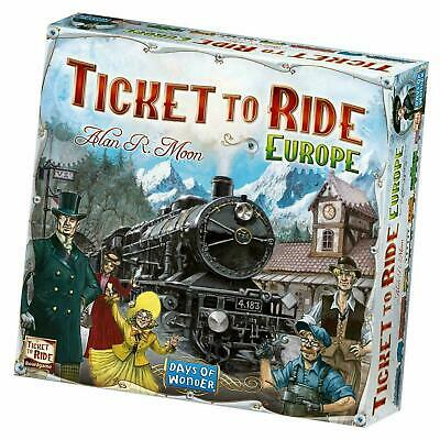 Days of Wonder Ticket to Ride Board Game  Europe edition Melbourne Stock