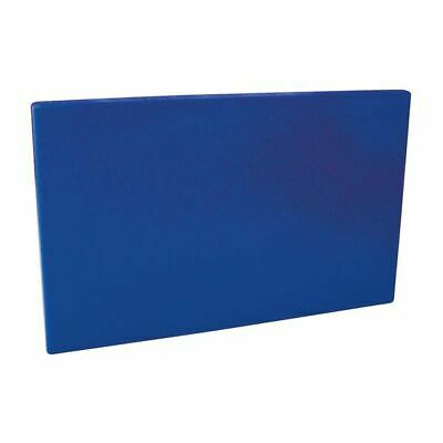 Cutting / Chopping Board 450x600x13mm Blue Polyethylene HACCP Colour Coded