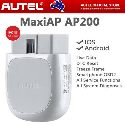 AUTEL OBD2 BLUETOOTH WiFi All Systems Diagnostic Scan Tool