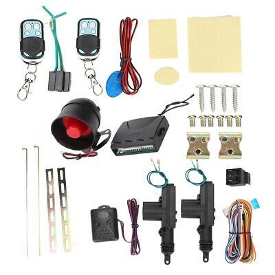 Universal Car Remote Control Central Kit Door Locking Alarm Keyless Entry System
