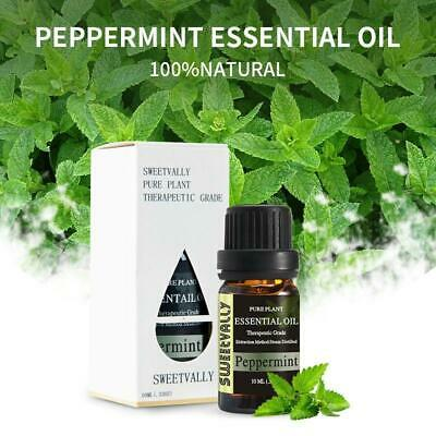 Aromatherapy Essential Oils Natural Pure Organic Essential Oil Peppermint 10ml