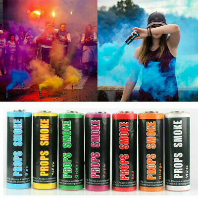Smoke Colorful Round Bomb Effect Show Background Photography Stage Toy Gifts