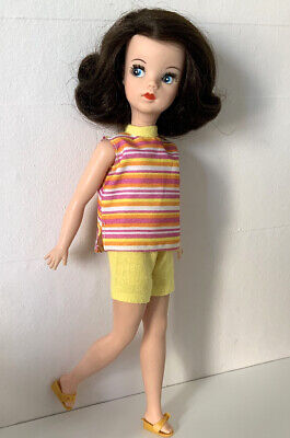 SINDY 68 BEACH TIME GIRL (yellow) REPRO EXACT COPY STRIPE no doll/shoes REDUCED!