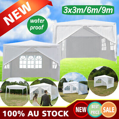 Gazebo Outdoor Pop Up Wedding Tent Marquee Party Canopy 3x9m/6m/3m High Quality