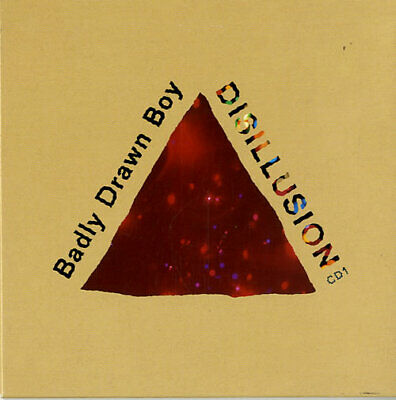 "Disillusion - Part 1 Badly Drawn Boy UK CD single (CD5 / 5"") TNXL005CD"