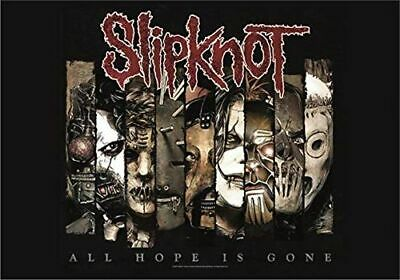 SLIPKNOT - ALL HOPE IS GONE - FABRIC POSTER - 30x40 WALL HANGING - MUSIC HFL1010