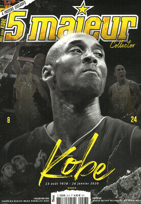 Kobe Bryant 100 % Hommage (+ 4 Posters) Magazine 5 Majeur # Special / 8 Fevrier