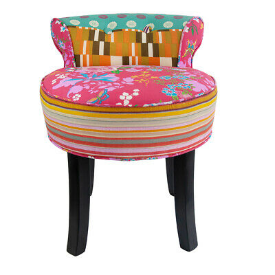 Peachy Velvet Chenille Dressing Table Chair Vanity Stool Bedroom Beatyapartments Chair Design Images Beatyapartmentscom