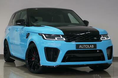 2019 Blue Land Rover Range Rover Sport 3.0 SD V6 HSE - SVR CONVERSION