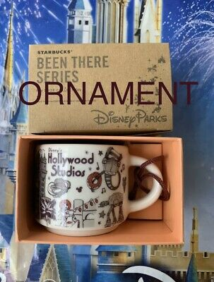 2019 Disney Parks Starbucks Hollywood Studios Been There Series Ornament Mug