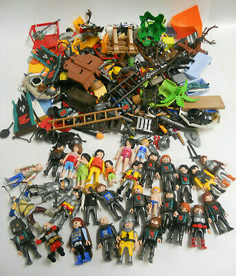 PLAYMOBIL FIGURES AND ACCESSORIES approx. 1.4 kilos    (up)