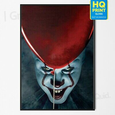 It Chapter 2 Poster 2019 Movie 2019 Stephen King Horror Art Print | A4 A3 A2 |