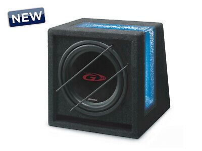 Alpine SBG-1044BR 10 inch Ready to Use Band Pass G Series Subwoofer