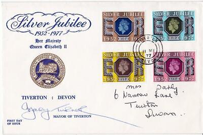 1977 Jubilee - Tiverton 'Special' - Tiverton CDS + Signed by the Mayor !!
