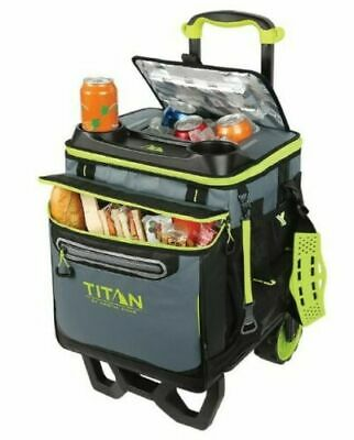 TITAN DEEP FREEZE nevera plegable y carro todoterreno con ruedas Capacidad de 22