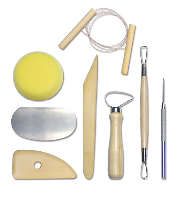Royal & Langnickel RSET-POT1 Complete Pottery Tool Set 8 Piece