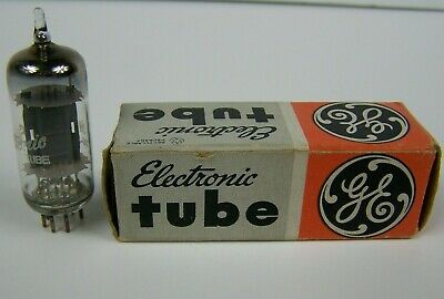 Vintage GE Electronic Tube 6C4 in Original Box General Electric Untested