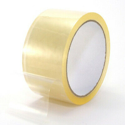 "36 Rolls Clear Packing Packaging Carton Sealing Tape 2 Mil Thick 2"" x 110 Yards"