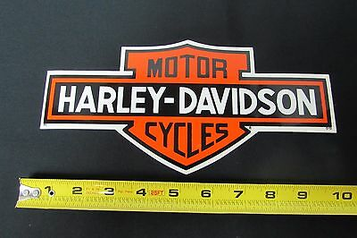 "Harley Davidson Genuine 10"" Sticker Decal Bar & Shield Panhead Shovelhead Evo"