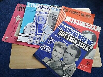 Selection Of Old Sheet Music