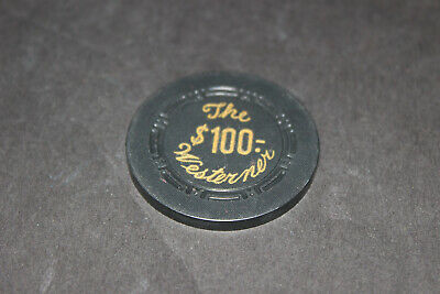 Rare Westerner, The $100 Casino Chip Las Vegas Mint Rated L
