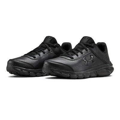 Under Armour Boys GS Assert 8 UFM SYN Running Shoes Trainers Sneakers - Black